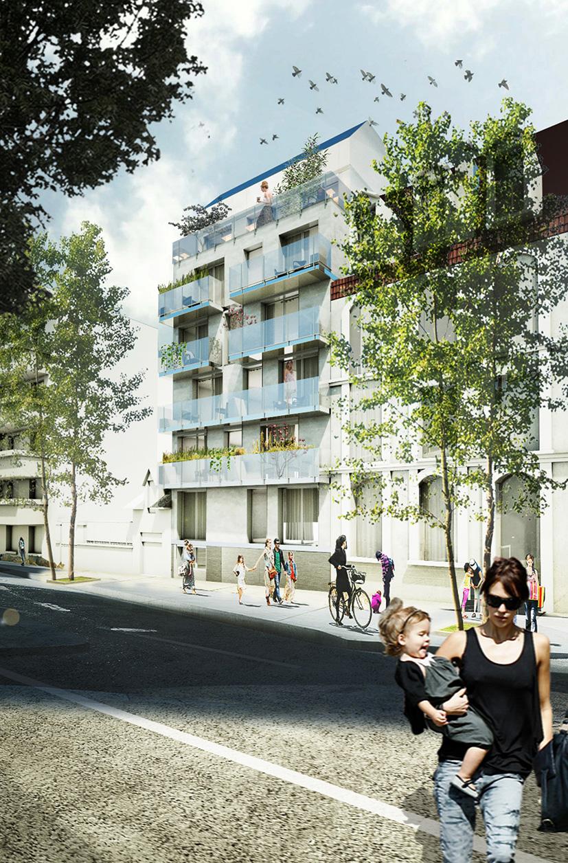26 logements Vanves MLA_CUBE ARCHITECTES